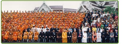 The Founding Meeting of the World Council of Religious Leaders Buddhamonthon, Nakhon Pathom, Thailand, 12 June 2002